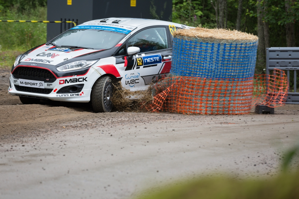 Chicane in Rally Finland 2017